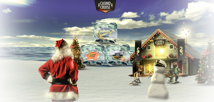 Choose an Exclusive Christmas Welcome Bonus at Casino Cruise this December 2016