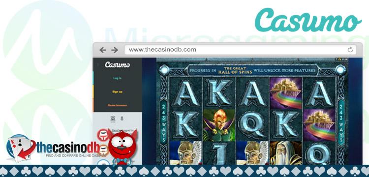 Casumo Casino Launches Microgaming Slots