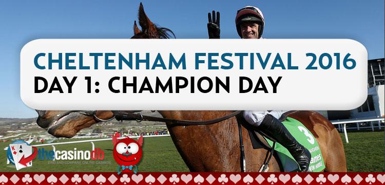 Cheltenham Festival 2016 Day 1 Roundup & Results