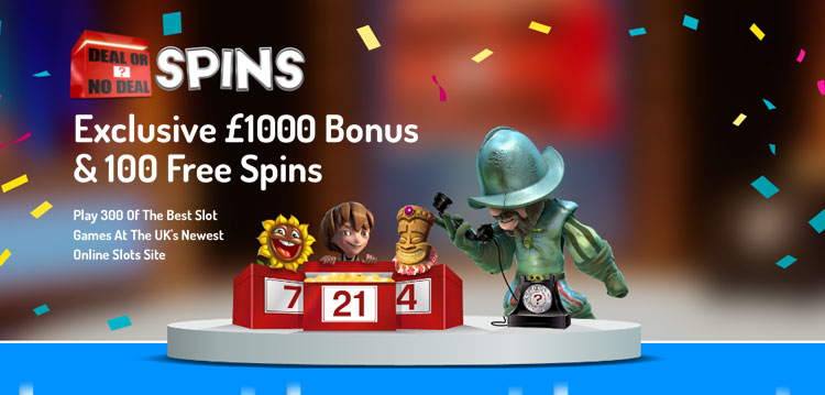 Deal or No Deal Spins Exclusive Casino Bonuses & Free Spins