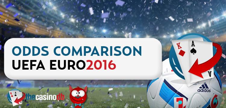 Euro 2016 Tournament Winner Odds Comparison
