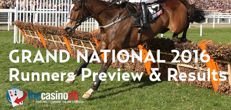 Grand National 2016 Runners Preview & Results