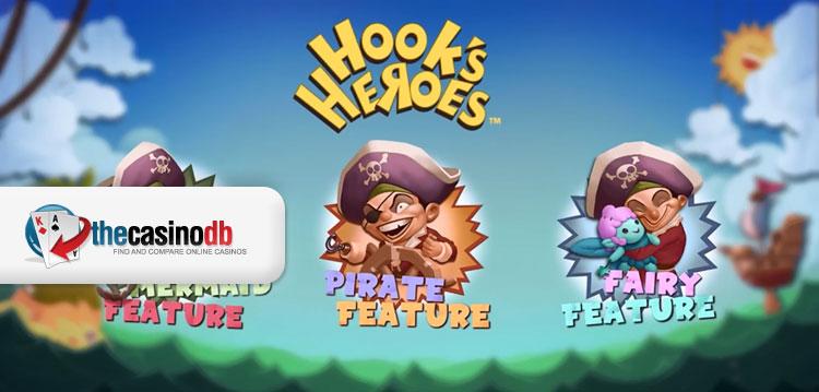 Hooks Heroes New NetEnt Slot Game