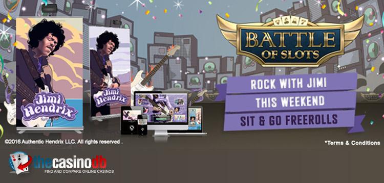 Jimi Hendrix Slot Tournament at VideoSlots Casino