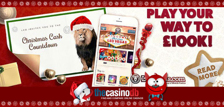 Leo Vegas Play Your Way to 100k Christmas Promo