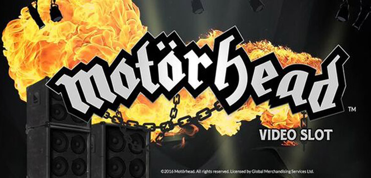 Motörhead Slot Launches with Free Spins, Bonuses and Promotions