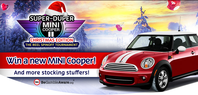 Win a Mini Cooper at PlayOJO this Xmas 2017