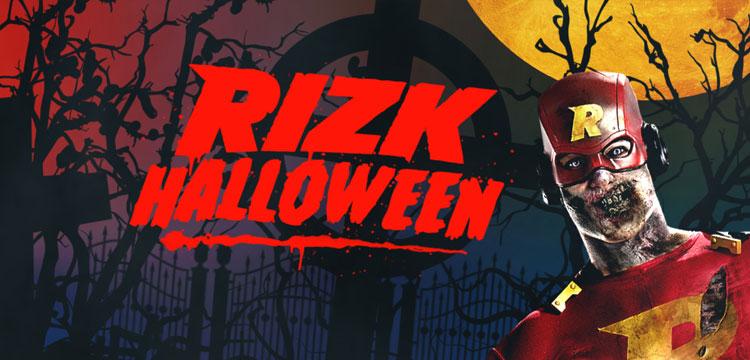 Rizk Casino 2016 Halloween Jackpot and Free Spins Casino Bonuses