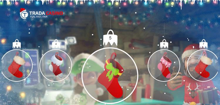 Check Your Stockings at Trada Casino This Christmas Season