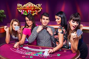 Evolution Blackjack Party